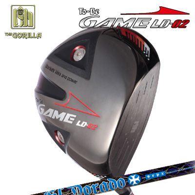 【カスタムモデル】GORILLA GOLF To-Be Game LD-02 DRIVER TRPX El Doradoゴリラゴルフ トゥービー ゲーム LC-02 ドライバー トリプルエックス エルドラド