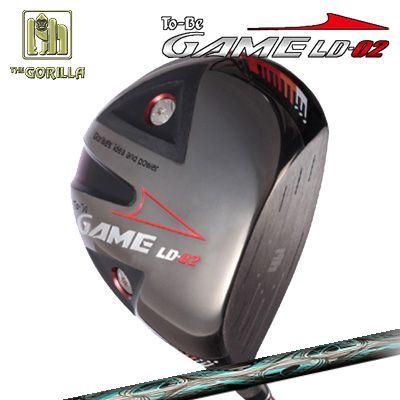 【カスタムモデル】GORILLA GOLF To-Be Game LD-02 DRIVER TRPX Inletゴリラゴルフ トゥービー ゲーム LC-02 ドライバー トリプルエックス インレット