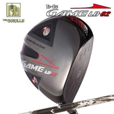 【カスタムモデル】GORILLA GOLF To-Be Game LD-02 DRIVER TRPX Xanadoゴリラゴルフ トゥービー ゲーム LC-02 ドライバー トリプルエックス ザナドゥ