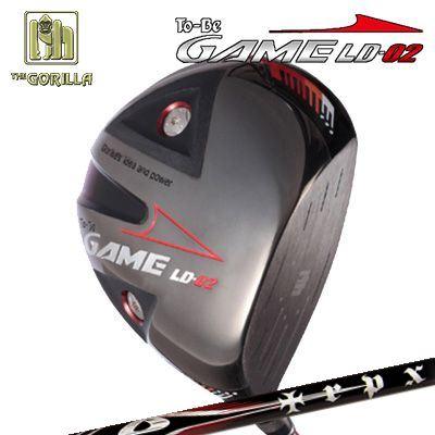 【カスタムモデル】GORILLA GOLF To-Be Game LD-02 DRIVER TRPX X-Line Conceptゴリラゴルフ トゥービー ゲーム LC-02 ドライバー トリプルエックス Xラインコンセプト