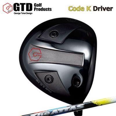 【カスタムモデル】GTD Code K Driver THE ATTASGTD コードK ドライバー ジ アッタス
