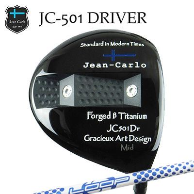 【カスタムクラブ】Jean-Calro JC501 DRIVER Loop Prortotype BWジャン カルロ JC501 ドライバー ループ プロトタイプ BW