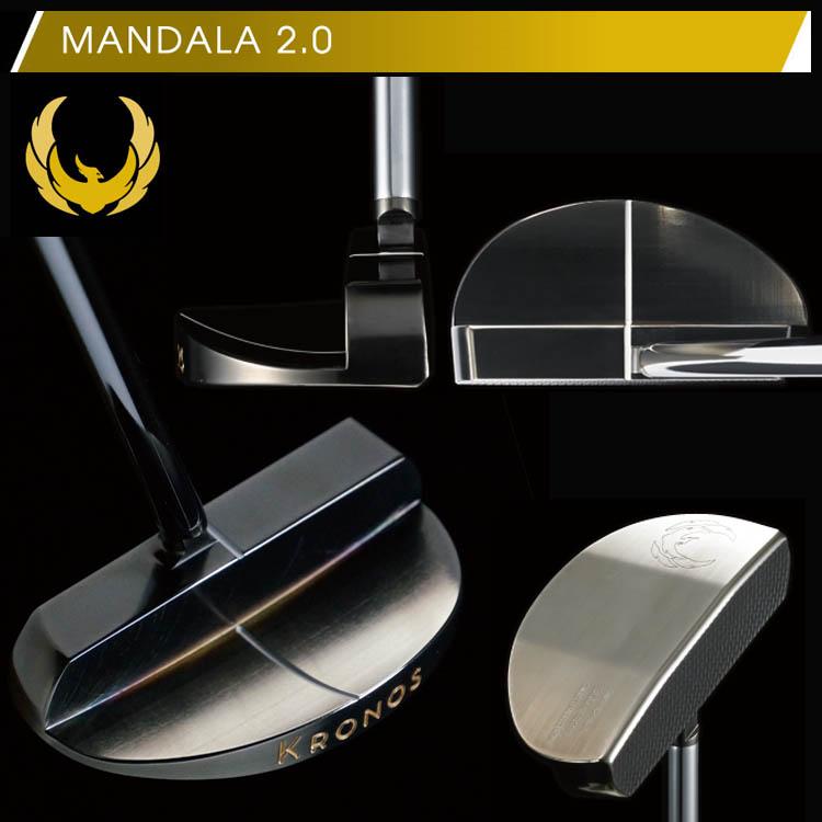 クロノスゴルフ マンダラ2.0 パターKRONOS GOLF METRONOME MANDALA2.0 PUTTERS