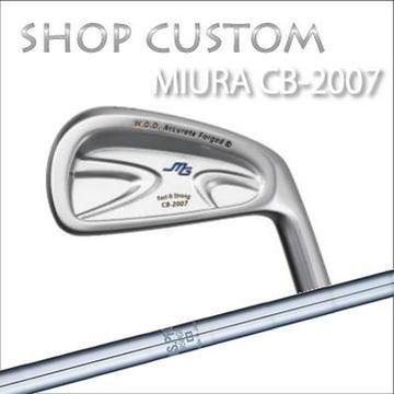 【カスタムモデル】MIURA CB-2007 IRON N.S.PRO 950GH三浦技研 CB-2007 アイアン NSプロ 950GH6本セット(#5~PW)