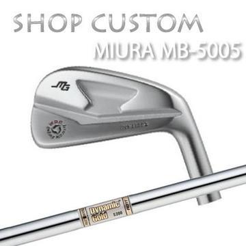 【カスタムモデル】MIURA MB-5005 IRON Dynamic Gold AMT三浦技研 MB-5005 アイアン ダイナミックゴールド AMT6本セット(#5~PW)