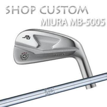 【カスタムモデル】MIURA MB-5005 IRON N.S.PRO 950GH三浦技研 MB-5005 アイアン NSプロ 950GH6本セット(#5~PW)