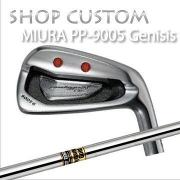 【カスタムモデル】MIURA PP-9005 GENESIS IRON Dynemic Gold三浦技研 PP-9005 ジェネシス アイアン ダイナミックゴールド6本セット(#5~PW)