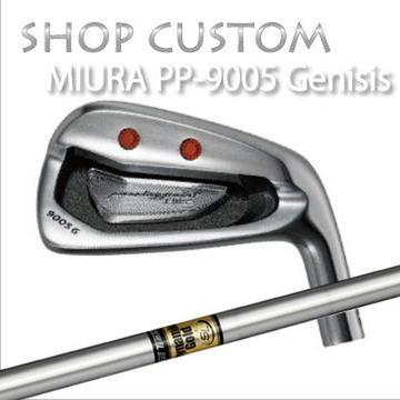 【カスタムモデル】MIURA PP-9005 GENESIS IRON Dynamic Gold SL三浦技研 PP-9005 ジェネシス アイアン ダイナミックゴールド SL6本セット(#5~PW)