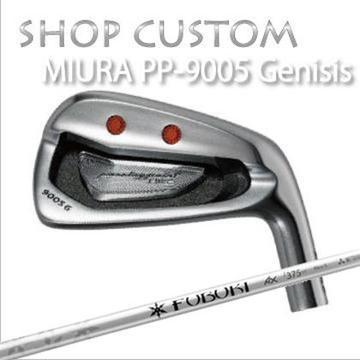 【カスタムモデル】MIURA PP-9005 GENESIS IRON FUBUKI AX IRON三浦技研 PP-9005 ジェネシス アイアン フブキ アックス アイアン6本セット(#5~PW)