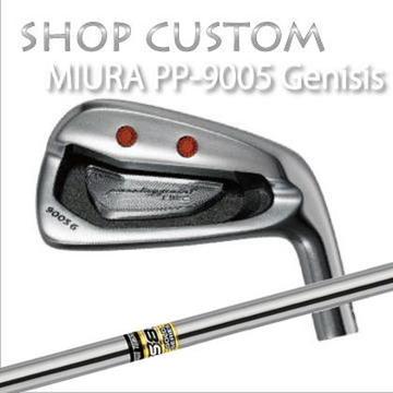 【カスタムモデル】MIURA PP-9005 GENESIS IRON GS85三浦技研 PP-9005 ジェネシス アイアン GS856本セット(#5~PW)