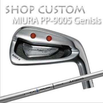 【カスタムモデル】MIURA PP-9005 GENESIS IRON OT IRON三浦技研 PP-9005 ジェネシス アイアン OT アイアン6本セット(#5~PW)
