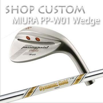 【カスタムモデル】MIURA PP-W01 WEDGE Dynamic Gold AMT Tour Issue三浦技研 PP-W01 ウェッジ ダイナミックゴールド AMT ツアーイシュー