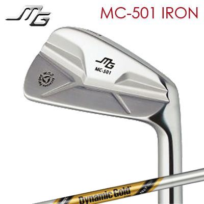 【カスタムモデル】MIURA MC-501 Iron Dynamic Gold Tour Issue三浦技研 MC-501 アイアン ダイナミックゴールド ツアーイシュー 6本セット(#5~PW) 追加番手同時購入できます
