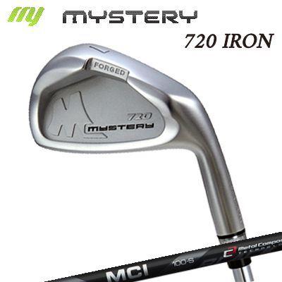 【カスタムモデル】The MYSTERY 720 IRON MCI BLACKミステリー 720 アイアン MCI ブラック 6本セット(#5~PW)
