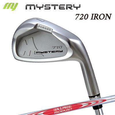 【カスタムモデル】The MYSTERY 720 IRON N.S.PRO MODUS3 TOUR120ミステリー 720 アイアン NSプロ モーダス3 ツアー120 6本セット(#5~PW)