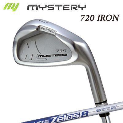 【カスタムモデル】The MYSTERY 720 IRON N.S.PRO ZEROS8ミステリー 720 アイアン NSプロ ゼロズ8 6本セット(#5~PW)