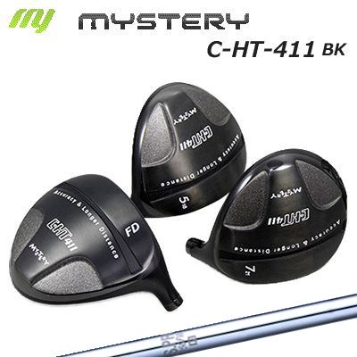 【カスタムモデル】The MYSTERY C-HT411BK FW N.S.PRO 950FWミステリー C-HT411ブラック フェアウェイウッド NSプロ 950FW