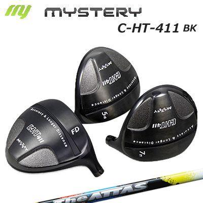 【カスタムモデル】The MYSTERY C-HT411BK FW THE ATTASミステリー C-HT411ブラック フェアウェイウッド ジ アッタス