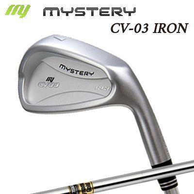 【カスタムモデル】The MYSTERY CV-03 IRON Dynemic ゴールドミステリー CV-03 アイアン ダイナミックゴールド 6本セット(#5~PW)