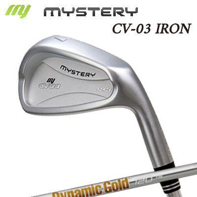 【カスタムモデル】The MYSTERY CV-03 IRON Dynamic Gold 95/105/120ミステリー CV-03 アイアン ダイナミックゴールド 95/105/120 6本セット(#5~PW)