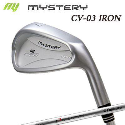 【カスタムモデル】The MYSTERY CV-03 IRON MCI 120ミステリー CV-03 アイアン MCI 120 6本セット(#5~PW)