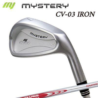 【カスタムモデル】The MYSTERY CV-03 IRON N.S.PRO MODUS3 TOUR105ミステリー CV-03 アイアン NSプロ モーダス3 ツアー105 6本セット(#5~PW)