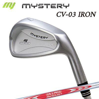 【カスタムモデル】The MYSTERY CV-03 IRON N.S.PRO MODUS3 TOUR120ミステリー CV-03 アイアン NSプロ モーダス3 ツアー120 6本セット(#5~PW)