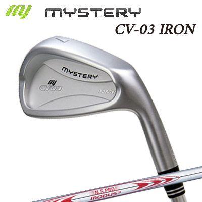 【カスタムモデル】The MYSTERY CV-03 IRON N.S.PRO MODUS3 TOUR130ミステリー CV-03 アイアン NSプロ モーダス3 ツアー130 6本セット(#5~PW)