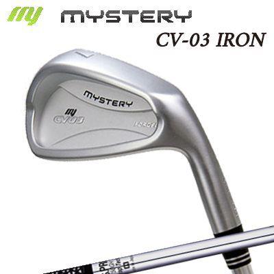 【カスタムモデル】The MYSTERY CV-03 IRON N.S.PRO 750GHミステリー CV-03 アイアン NSプロ 750GH 6本セット(#5~PW)