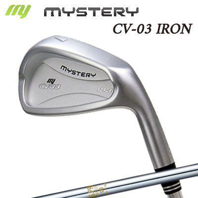 【カスタムモデル】The MYSTERY CV-03 IRON N.S.PRO 850GHミステリー CV-03 アイアン NSプロ 850GH 6本セット(#5~PW)