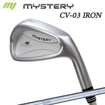【カスタムモデル】The MYSTERY CV-03 IRON N.S.PRO 950GHミステリー CV-03 アイアン NSプロ 950GH 6本セット(#5~PW)