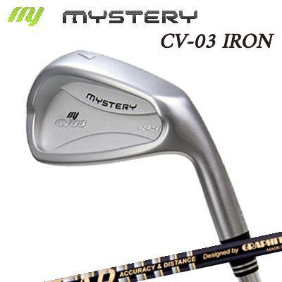 【カスタムモデル】The MYSTERY CV-03 IRON TOUR AD 55/65 TYPE2/75/85/95ミステリー CV-03 アイアン ツアーAD アイアン 55/65 タイプ2/75/85/95 6本セット(#5~PW)