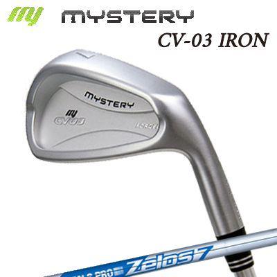 【カスタムモデル】The MYSTERY CV-03 IRON N.S.PRO ZELOS7ミステリー CV-03 アイアン NSプロ ゼロズ7 6本セット(#5~PW)