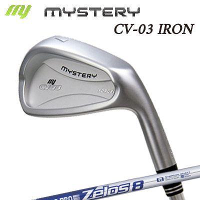 【カスタムモデル】The MYSTERY CV-03 IRON N.S.PRO ZEROS8ミステリー CV-03 アイアン NSプロ ゼロズ8 6本セット(#5~PW)