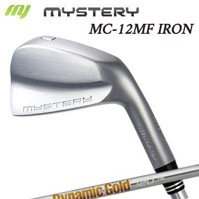 【カスタムモデル】The MYSTERY MC-12MF IRON Dynamic Gold 95/105/120ミステリー MC-12MF アイアン ダイナミックゴールド 95/105/120 6本セット(#5~PW)