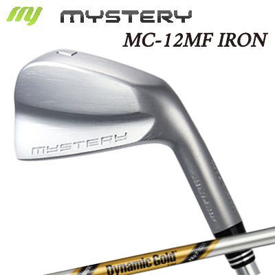 【カスタムモデル】The MYSTERY MC-12MF IRON Dynamic Gold Tour Issueミステリー MC-12MF アイアン ダイナミックゴールド ツアーイシュー 6本セット(#5~PW)