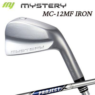【カスタムモデル】The MYSTERY MC-12MF IRON PROJECT Xミステリー MC-12MF アイアン プロジェクトX 6本セット(#5~PW)