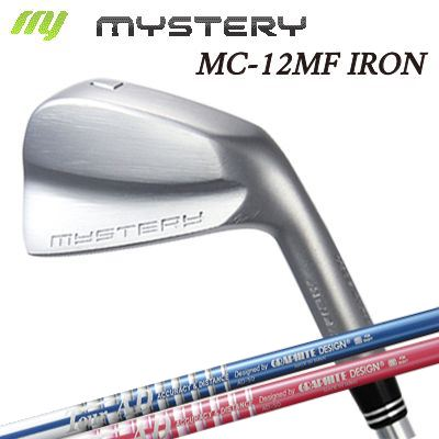 【カスタムモデル】The MYSTERY MC-12MF IRON TOUR AD 50ミステリー MC-12MF アイアン ツアーAD 6本セット(#5~PW)