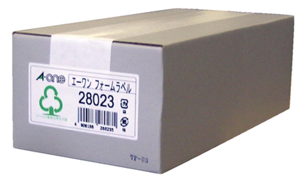 エーワン フォームラベル 4 1/2×10 6面 500折 (3000片) 28023