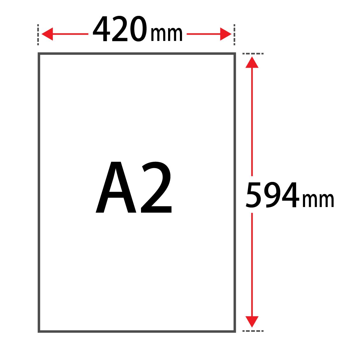 コースター用紙 「ホワイト」 1mm A2 サイズ 100枚 コースター カード 名刺 活版印刷 吸水性