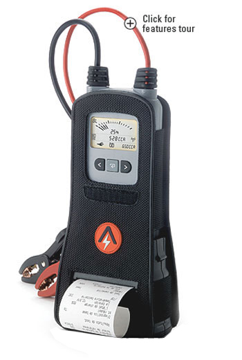 ARGUS / Argus-battery Tester printer with AA1000RP engine starting ability lifetime measurement