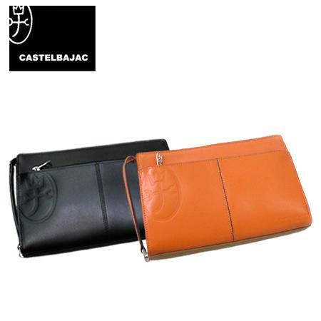 (送料込)CASTELBAJAC/カステルバジャックトリエ セカンドバッグ Lサイズ
