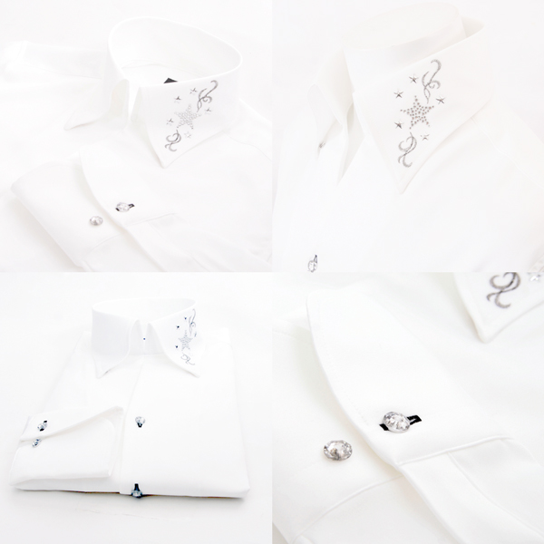 Stylish shirt Mat Gloss dress shirt men suit, bridegroom accessories, Cool Biz, ウェデイングメンズ, bridegroom accessories, older brother system, wedding ceremony men men fs3gm02P10Nov13