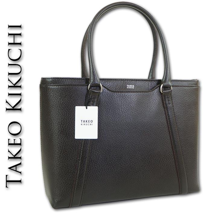 タケオキクチ TAKEO KIKUCHI の通販はSSC コーネル 牛革 トートバッグ 定価42 900円 日本製 お中元 ギフト ダークブラウン系 メンズ