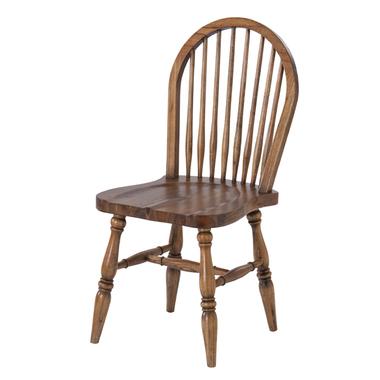 ウインザーチェア ブラウン 木製 天然木 ダイニング 書斎 オフィス 店舗 カフェ風 おしゃれ シンプル 北欧 ナチュラル 椅子 イス 完成品