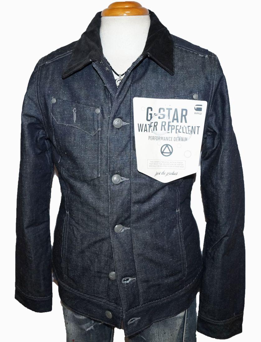 ジースターロウ G-STAR RAW デニムジャケット 中綿入り h082138 メンズ 冬物 ブルゾン ジースターロゥ ジージャン