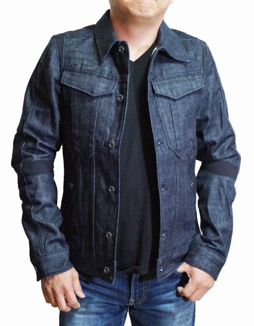 ジースターロウ G-STAR RAW デニムジャケット D06044 SLIM JKT メンズ インディゴ ジースターロゥ 春物 秋物 ジージャン Gジャン