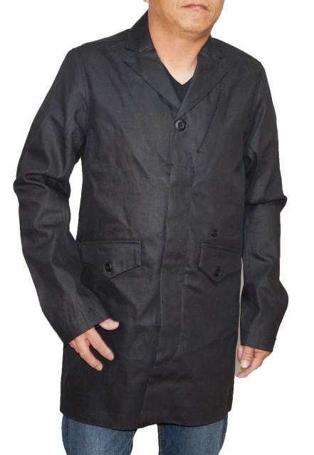 ジースターロウ G-STAR-RAW コート 黒 82350D メンズ ブラック