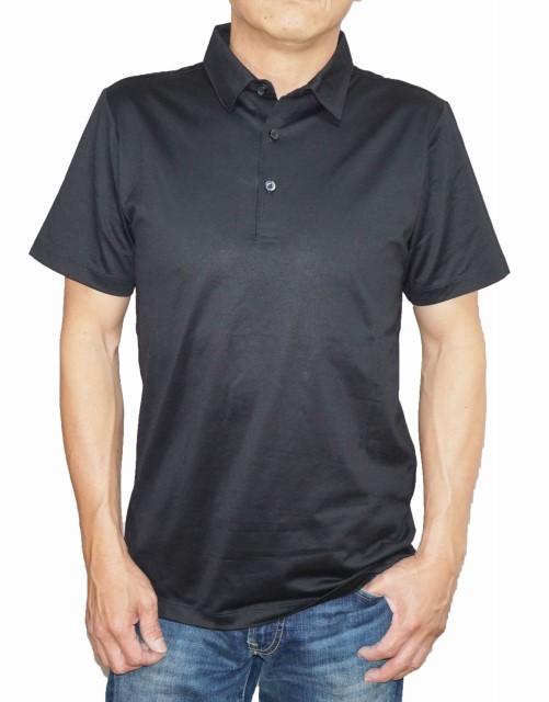 ニコル 2020A W新作送料無料 セレクション 送料無料 NICOLE selection 半袖ポロシャツ ブラック 7266-9500 黒 メンズ 夏物