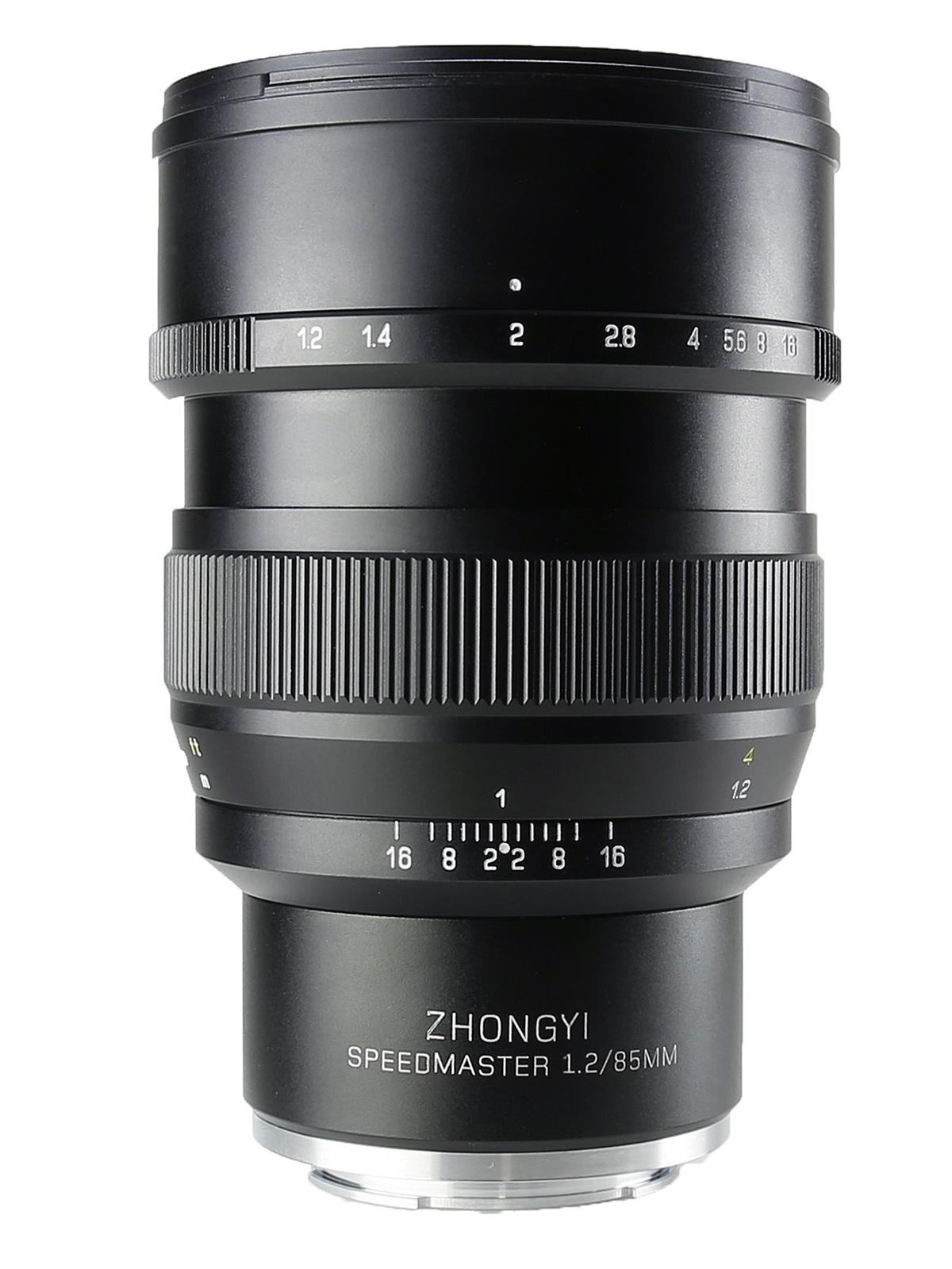中一光学|ZHONG YI OPTICS SPEEDMASTER 85mm F1.2 - ソニーEマウント フルサイズ対応 単焦点レンズ